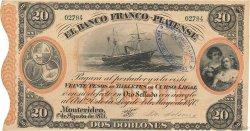 20 Pesos / 2 Doblones URUGUAY  1871 PS.173a SPL