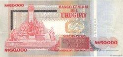 50000 Nuevos Pesos URUGUAY  1989 P.070a TTB