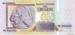 100000 Nuevos Pesos URUGUAY  1991 P.071a NEUF