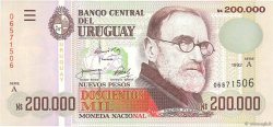 200000 Nuevos Pesos URUGUAY  1992 P.072a pr.NEUF