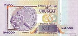 1000 Nuevos Pesos URUGUAY  1989 P.067A NEUF