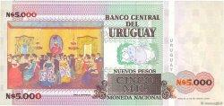 5000 Nuevos Pesos URUGUAY  1989 P.068A NEUF