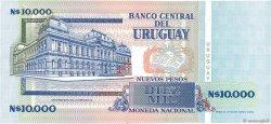 10000 Nuevos Pesos URUGUAY  1989 P.068B pr.NEUF