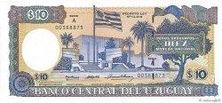 10 Pesos Uruguayos URUGUAY  1995 P.073Ba SPL