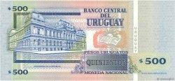 500 Pesos Uruguayos URUGUAY  1999 P.082 NEUF