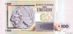 100 Pesos Uruguayos URUGUAY  2011 P.088b NEUF