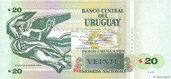 20 Pesos Uruguayos URUGUAY  2011 P.086b NEUF