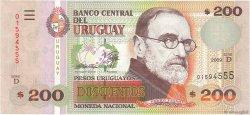200 Pesos Uruguayos URUGUAY  2009 P.089b NEUF