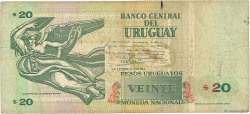 20 Pesos Uruguayos URUGUAY  1994 P.074a TB