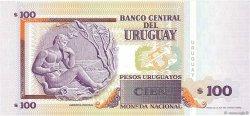 100 Pesos Uruguayos URUGUAY  2000 P.076c NEUF