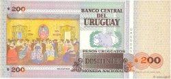 200 Pesos Uruguayos URUGUAY  2000 P.077b pr.NEUF