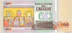 200 Pesos Uruguayos URUGUAY  2000 P.077b NEUF