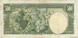 500 Pesos URUGUAY  1967 P.044a TB