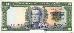 500 Pesos URUGUAY  1967 P.048a SPL