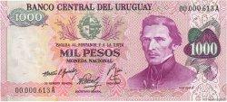 1000 Pesos URUGUAY  1974 P.052 SUP