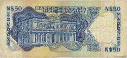 50 Nuevo Pesos URUGUAY  1975 P.059 B