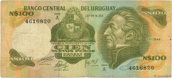 100 Nuevo Pesos URUGUAY  1975 P.060a B