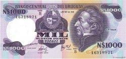 1000 Nuevos Pesos URUGUAY  1981 P.064b pr.NEUF