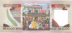 5000 Nuevos Pesos URUGUAY  1983 P.065a NEUF