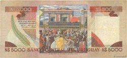 5000 Nuevos Pesos URUGUAY  1983 P.065a TB+