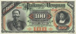 100 Pesos URUGUAY  1887 PS.215 pr.NEUF