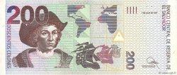 200 Colones SALVADOR  1998 P.152a TTB