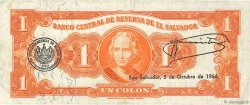 1 Colon SALVADOR  1963 P.100a TB