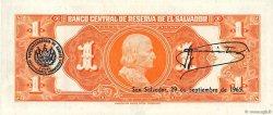 1 Colon SALVADOR  1964 P.105a SUP