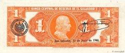 1 Colon SALVADOR  1964 P.105a NEUF