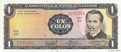 1 Colon SALVADOR  1972 P.115a NEUF