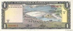 1 Colon SALVADOR  1974 P.120 NEUF