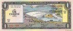 1 Colon SALVADOR  1978 P.125b TTB