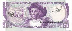 50 Colones SALVADOR  1978 P.131b NEUF