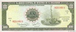 100 Colones SALVADOR  1988 P.137b NEUF