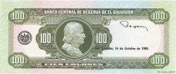 100 Colones SALVADOR  1983 P.137a NEUF