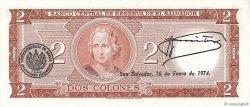 2 Colones SALVADOR  1972 P.116a NEUF