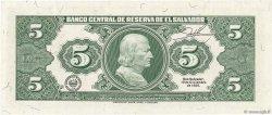 5 Colones SALVADOR  1992 P.132A pr.NEUF