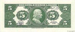 5 Colones SALVADOR  1983 P.134a NEUF