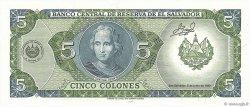 5 Colones SALVADOR  1990 P.138a NEUF