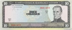 10 Colones SALVADOR  1980 P.129b NEUF