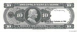 10 Colones SALVADOR  1983 P.135a NEUF