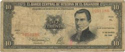 10 Colones SALVADOR  1988 P.135b pr.B