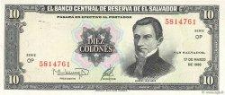 10 Colones SALVADOR  1988 P.135b NEUF