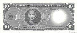 10 Colones SALVADOR  1995 P.141a NEUF