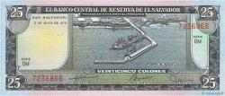25 Colones SALVADOR  1978 P.130a NEUF