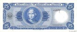 25 Colones SALVADOR  1996 P.142a NEUF