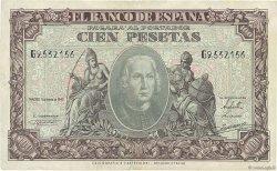 100 Pesetas ESPAGNE  1940 P.118a TTB+