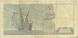 5000 Lire ITALIE  1970 P.098c B+