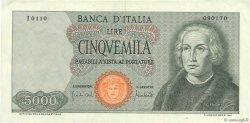 5000 Lire ITALIE  1970 P.098c TTB+