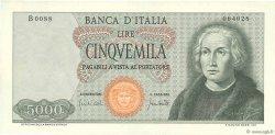5000 Lire ITALIE  1970 P.098c SUP+